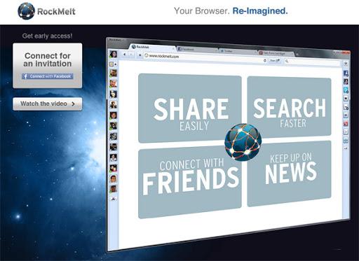 RockMelt社交瀏覽器
