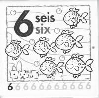 Los Numeros En Ingles Para Colorear Los Nmeros Del 1 Al