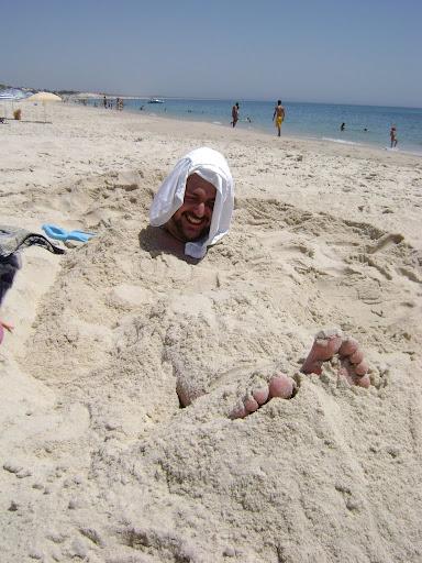 Un bichoto enterrado en Troia