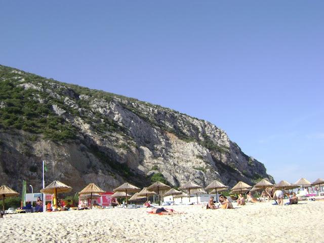 La playa de Setubal
