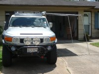 Awning without roof rack? - Toyota FJ Cruiser Forum
