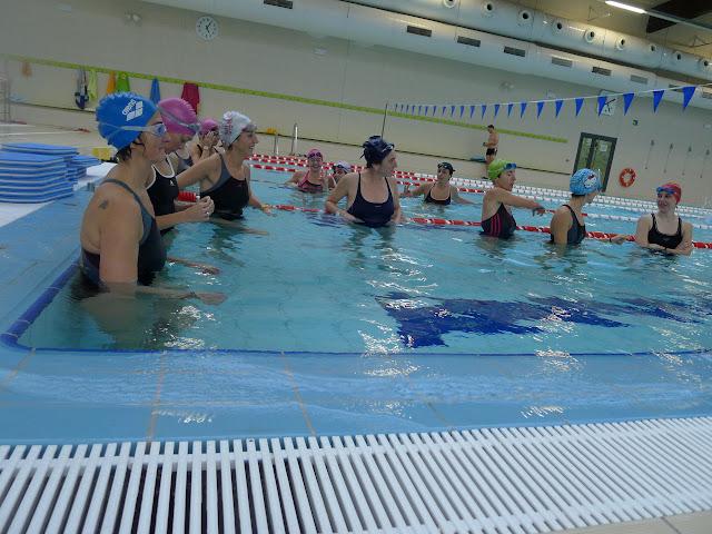 Recopilaci n de ejercici s de nataci n triku mujeres for Ejercicios espalda piscina