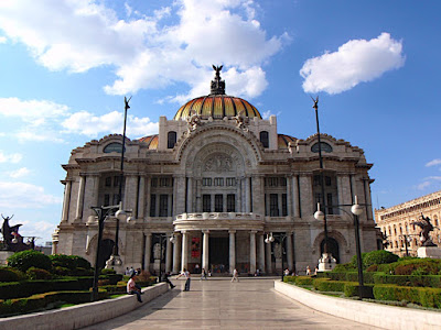 Palacio de Bellas Artes (lots of amazing murals)