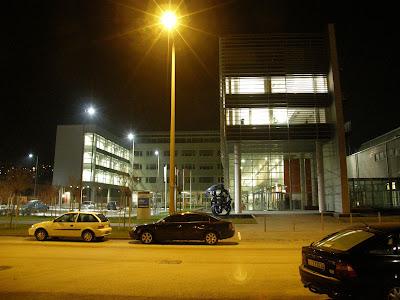 MTV, Magyar Televízió, székház, Budapest,  III. kerület,  3. kerület, blog,  este,  képek,  fotók, Kunigunda út,