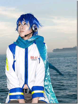 vocaloid cosplay - kaito