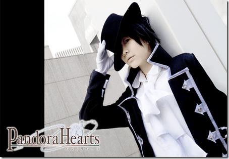 pandora hearts cosplay - gilbert nightray