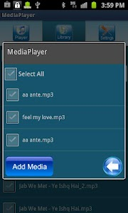 Media Player screenshot 3