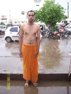 Samaresh @ shani shingnapur