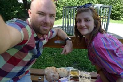 6 year anniversary picnic. Vienna, Austria <3