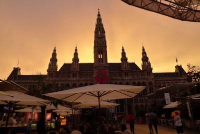 Just about to start raining. Vienna.