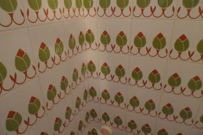 Our bathroom tiles! Way cool