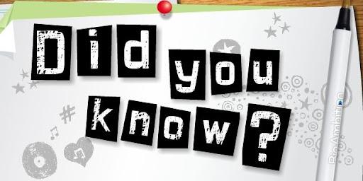 ήξερες ότι;