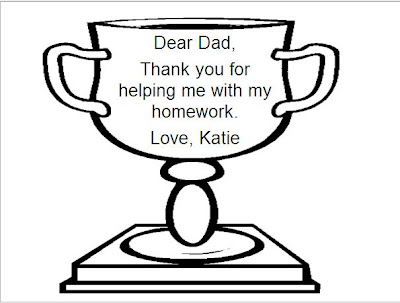 lpcomputerlab: Grade 2 Father's Day Trophy