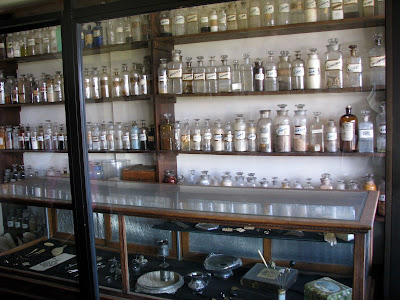 Old West apothecary