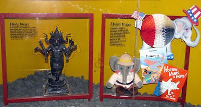 Hindu and modern elephants