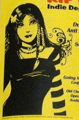 CROQ Goth Chick