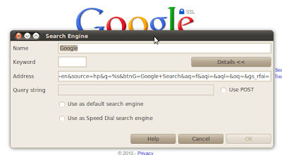 Opera: Search Engine