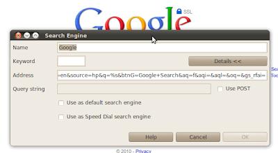 Opera: Search Engine
