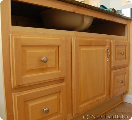 stain bathroom vanity cabinet gel such paint or old grey