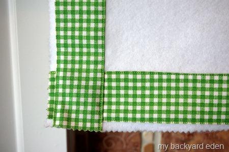 Fabric Mantel Scarf Trim
