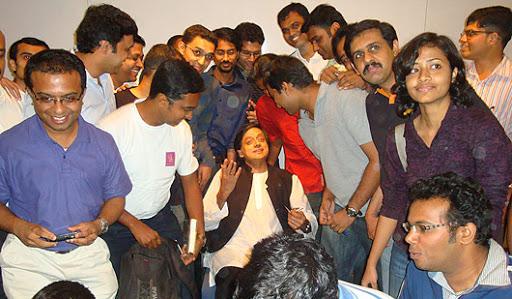 TweetUp with Shashi Tharoor