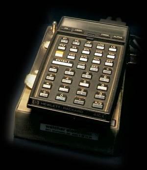 Actual Spacelab D1 HP-41CX