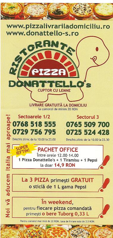 pliant Pizza Donattello's 2009 - fata