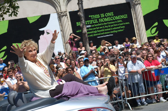 The beautiful and talented -- Cloris Leachman!