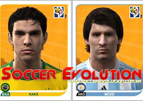 Kaká e Messi