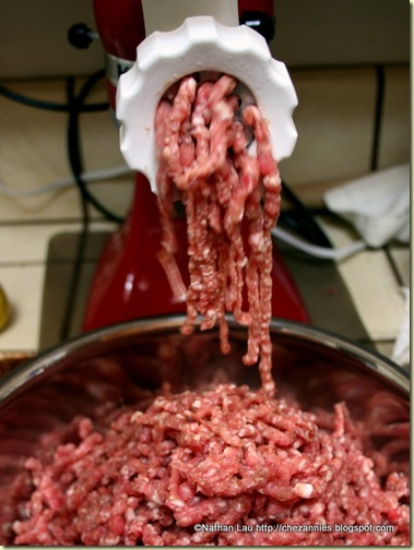 kitchen aid meat grinder attachment over sink lighting homemade breakfast sausage | house of annie