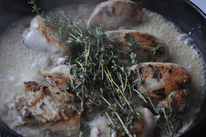 simmering thyme