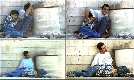 palestine father saving son