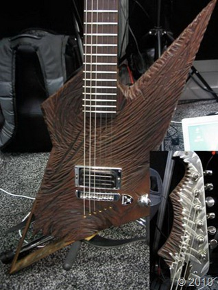 Worlds Weirdest Guitar Designs  Amazing Extreme Odd