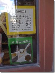 silkworms book