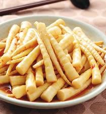 美味【素】食園 素食食譜: 素食食譜-辣炒劍筍