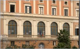 Sizilien - Palermo - Convitto Nazionale. Hier ging der Mafia-Jäger Giovanni Falcone zur Grundschule