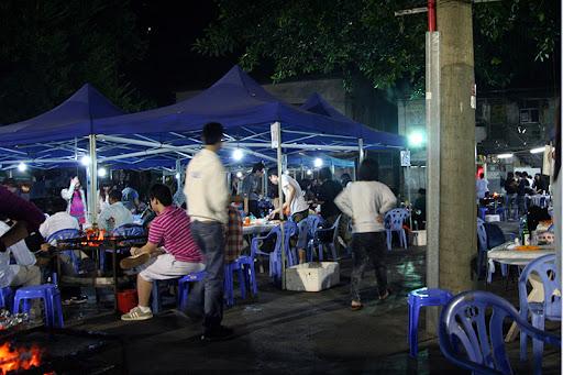 walking, hong kong: 美孚九華徑燒烤場