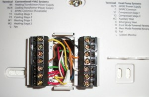 WhiteRodgers to Hunter Thermostat Wiring Help