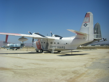 They had tons of Air Force, Army, and Navy planes, but just one lonely old Coast Guard sea plane.