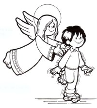 dibujos religin para colorear