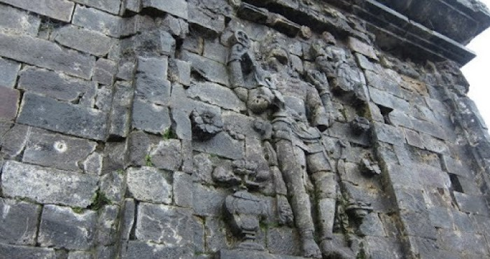 Detail of a temple on Dieng Plateau, one of my favorite destinations in Java