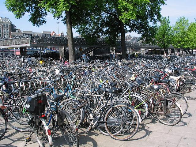 Holanda, un pais de ciclistas