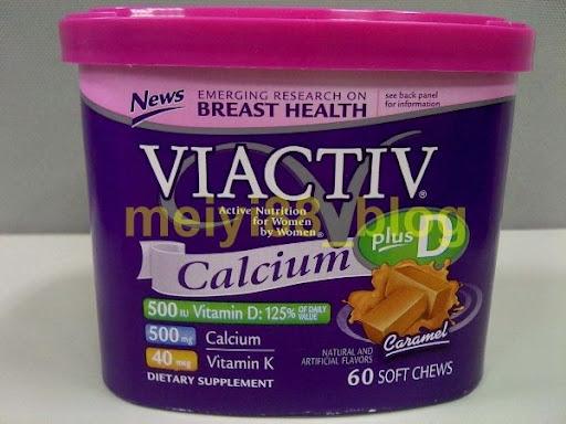 VIACTIV Calcium 焦糖口味鈣軟糖_軟糖鈣 @ 低調是一種漫妙的旋律 :: 痞客邦