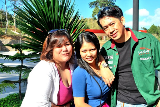 With ate mavic and Kuya jojo