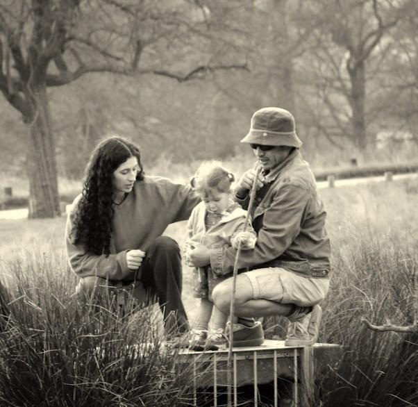 Familia en Richmond Park - Luis Serrano