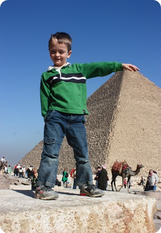 Egypt to see the Pyramids