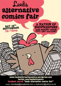 Leeds Altrnative Comic Fair 2010