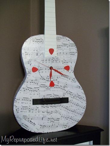 guitar with saddle bridge