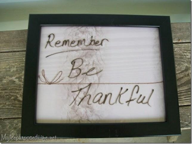 black framed dry erase board