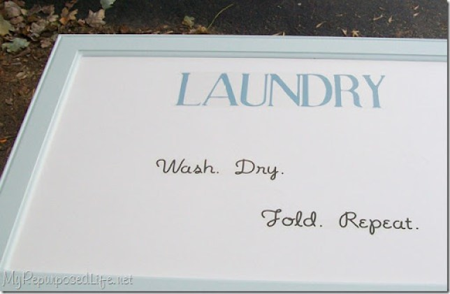 laundry sign wash, dry